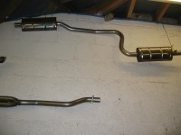 S/Steel Exhaust Road / Rally System