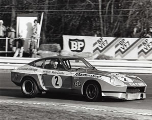Racing at Brands Hatch in 1980